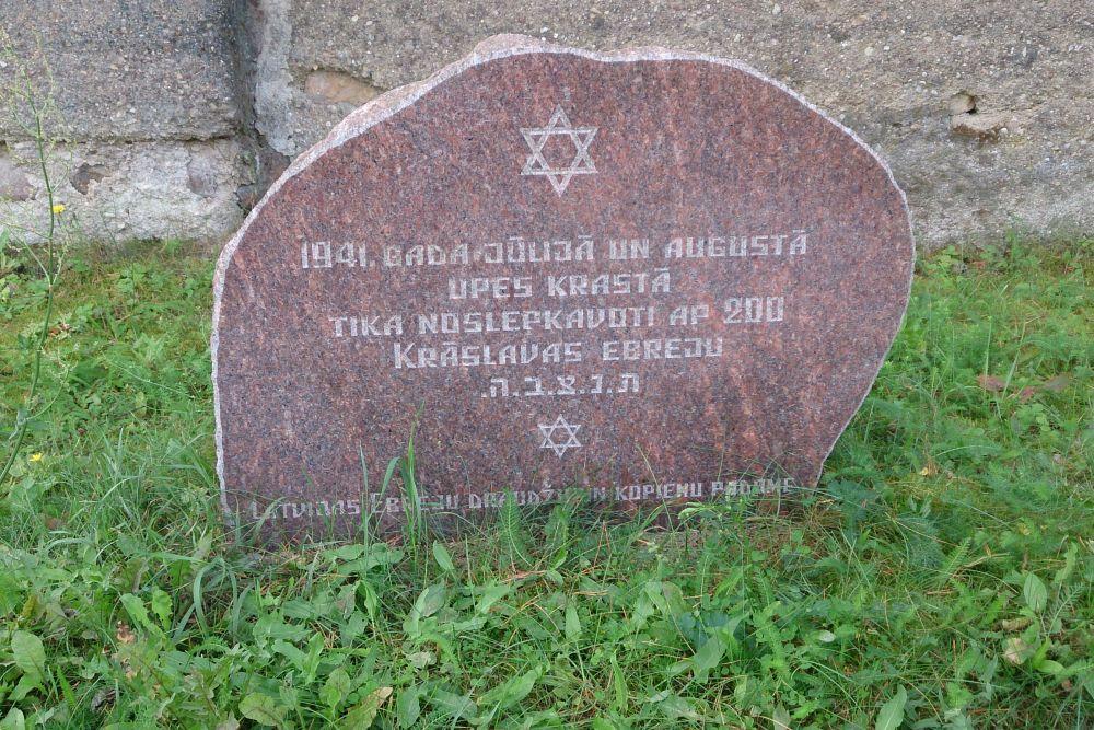 Monument Executieplaats Rivieroever Daugava