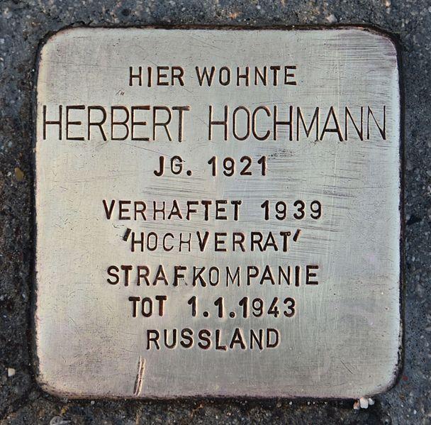 Stolperstein Pottendorfer Straße 121