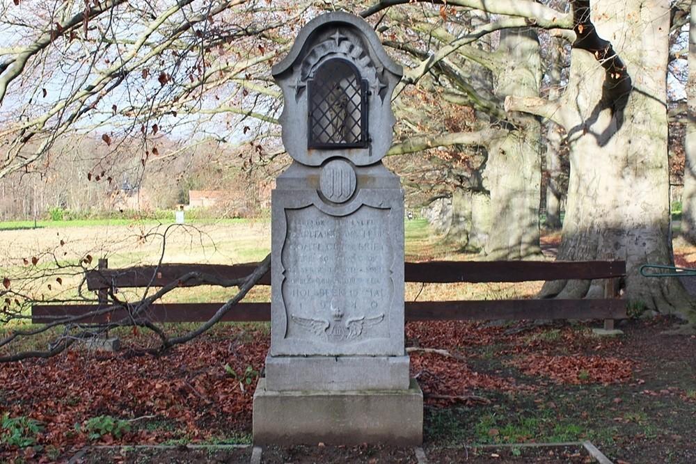 Monument Albert Soete en Guy De Briey