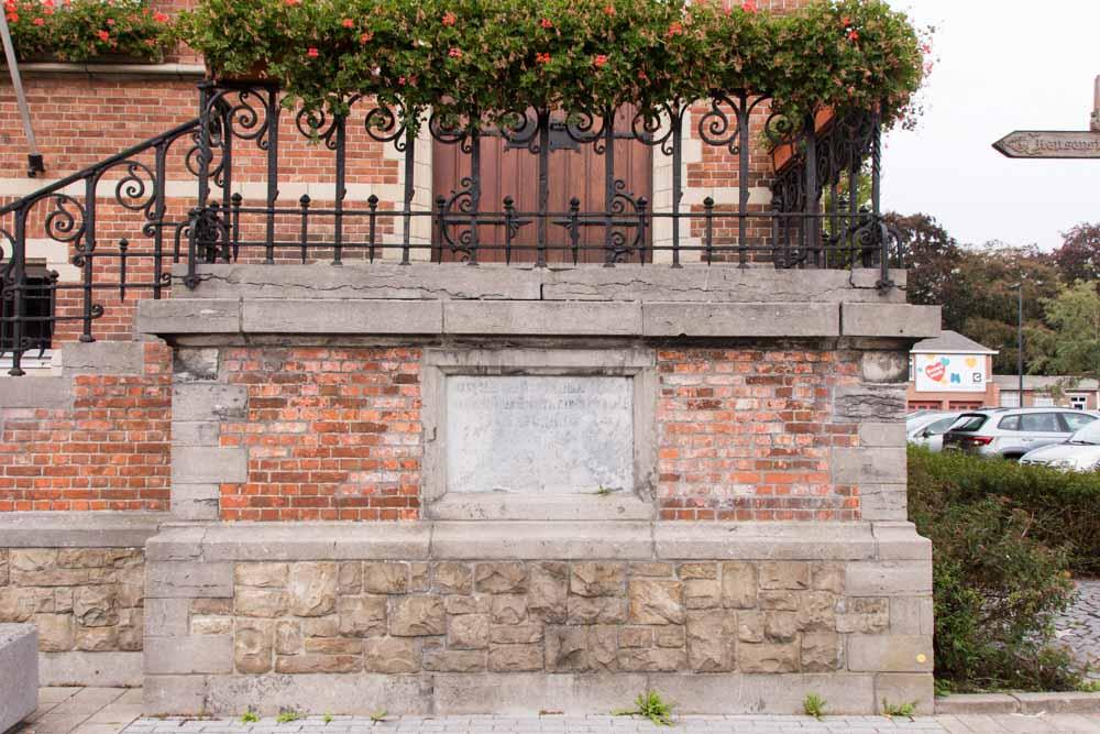 Commemorative Stone Liberation Westmalle