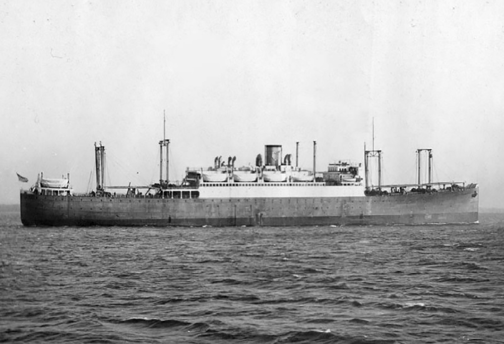 Scheepswrak USS Hugh L. Scott (AP-43)
