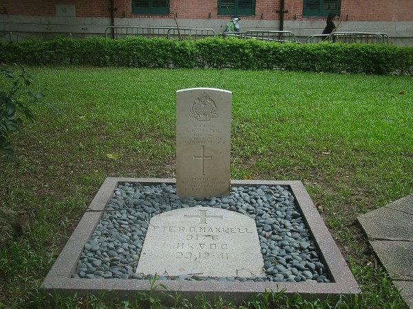 Commonwealth War Grave St. John Cathedral Grounds