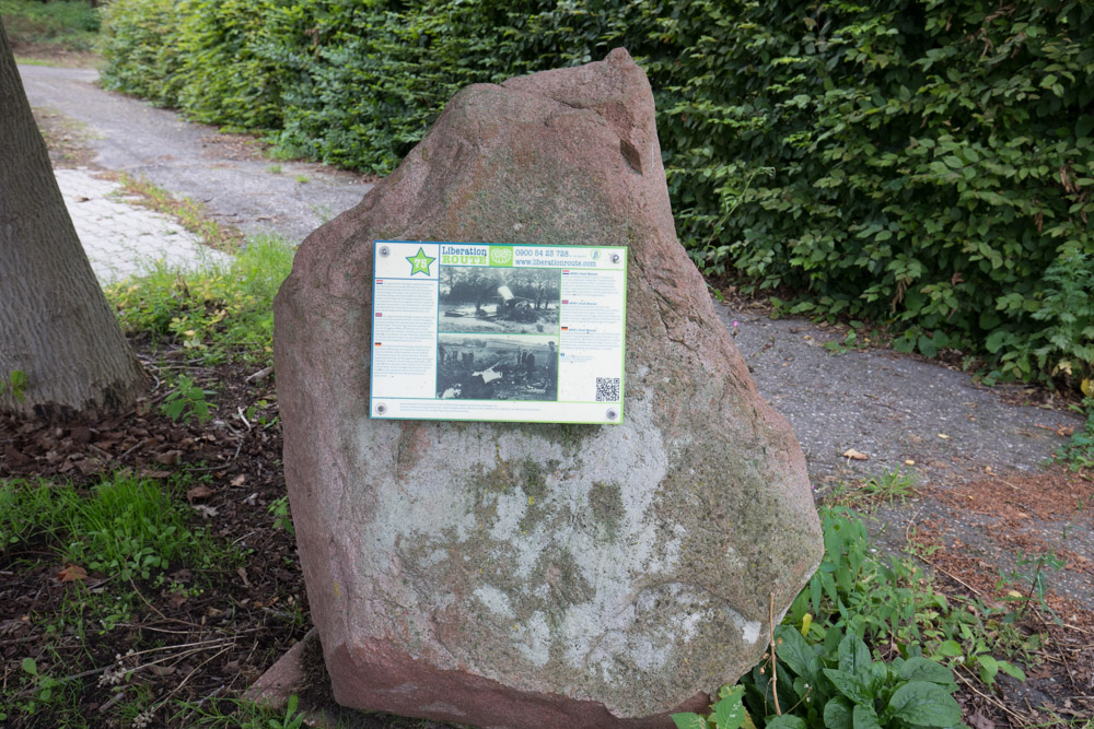 Liberation Route Marker 75
