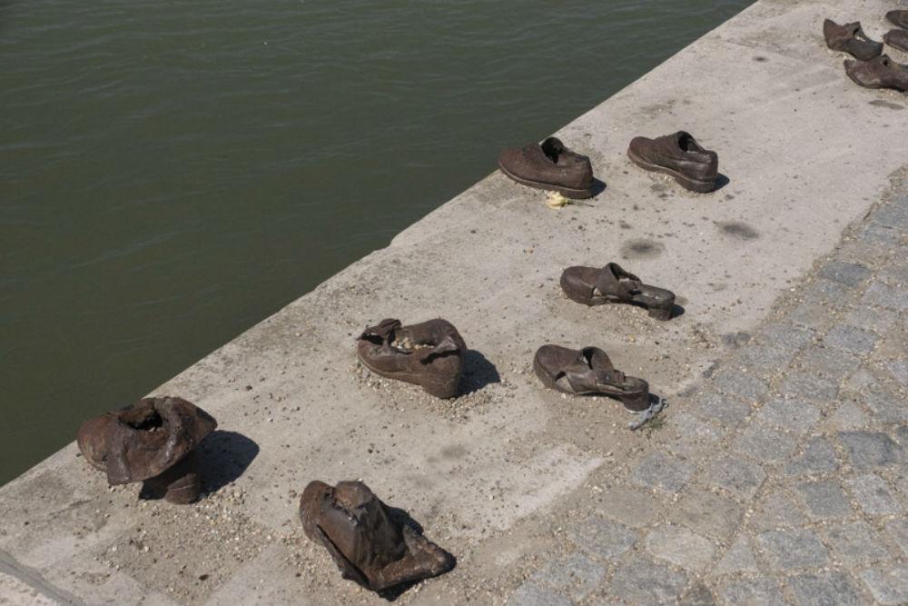 Holocaust Memorial Danube Promenade