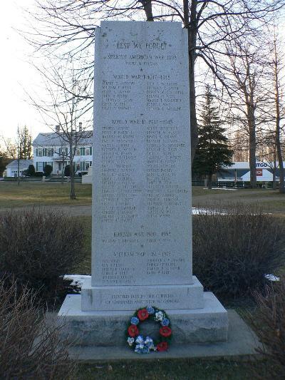 War Memorial Gardiner