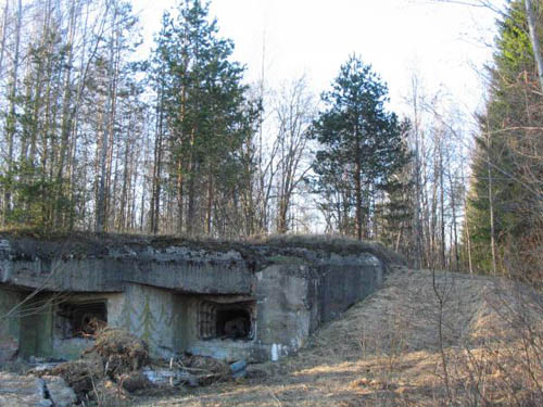 Stalinlinie - Artillerie Kazemat Elizavetinka