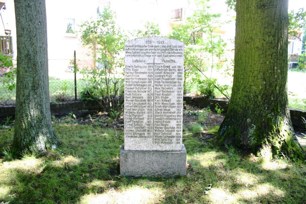 War memorial 1940 - 1945 Ketzin