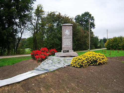 Monument Anti-Sovjet Partizanen Tauras District