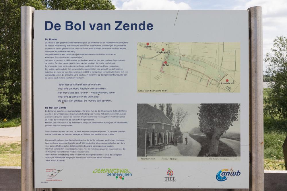 Informatie Sign 'De Bol van Zende'