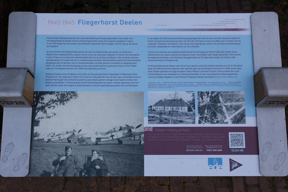 Informatiebord Fliegerhorst Deelen