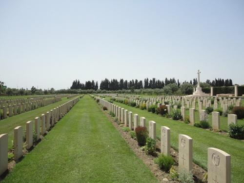 Commonwealth War Cemetery Catania