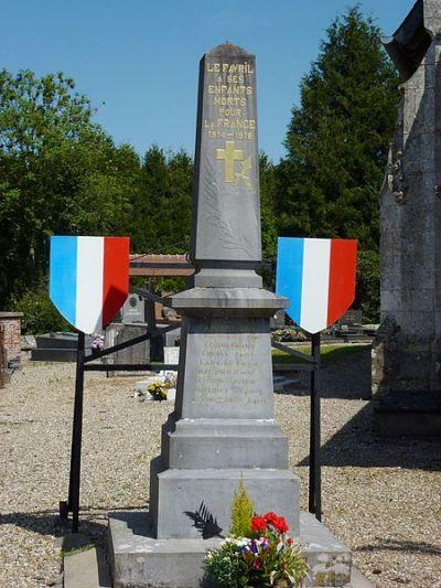 War Memorial Le Favril