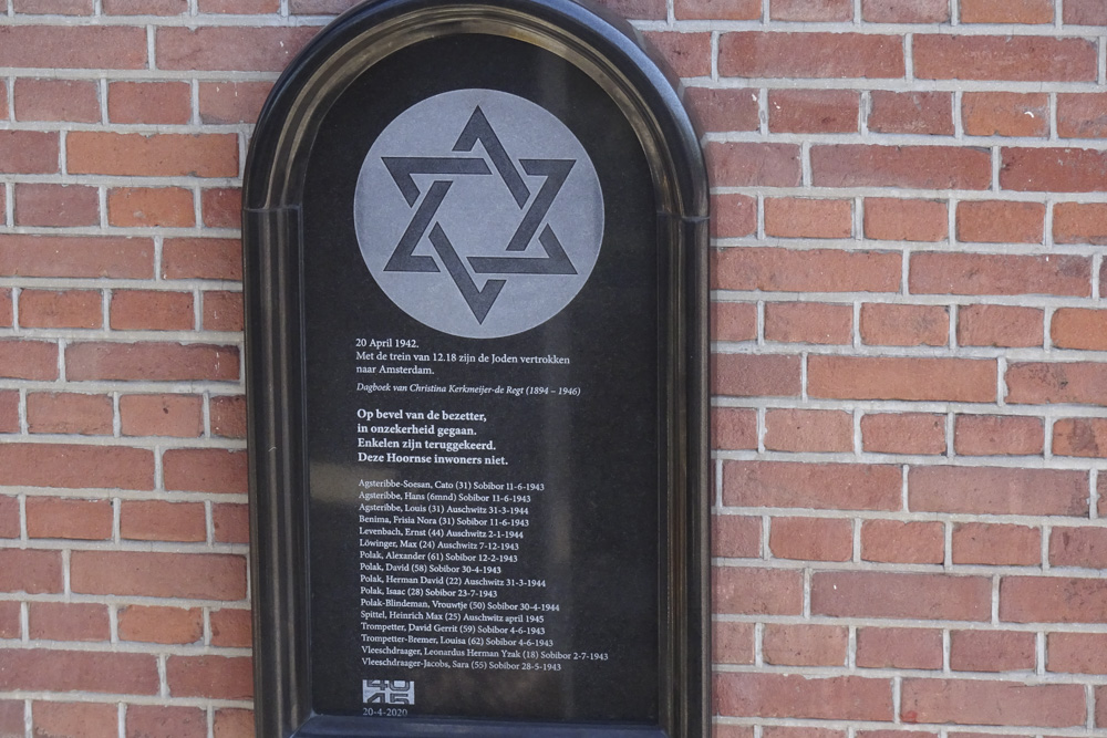 Plaquette Joodse Slachtoffers