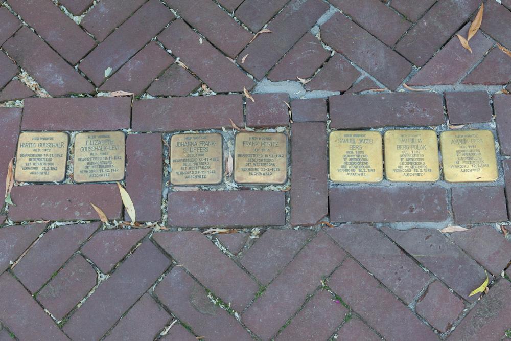 Stolpersteine Hofstraat 13