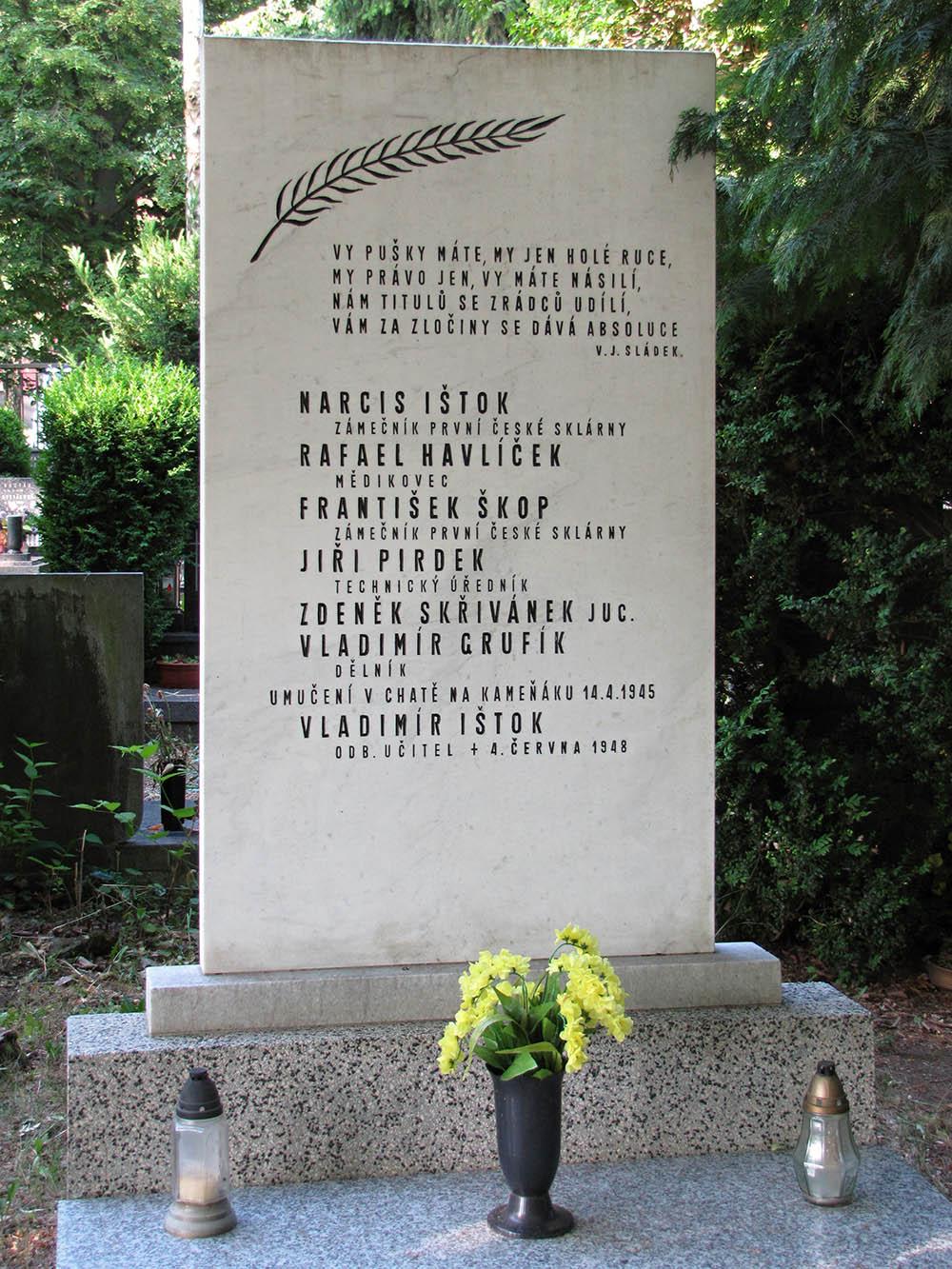 Massagraf Slachtoffers Gestapo Kyjov