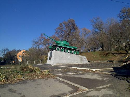 Bevrijdingsmonument (T-35/85 Tank) Lypovets