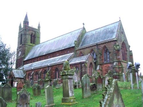 Commonwealth War Graves St. Kentigern Churchyard