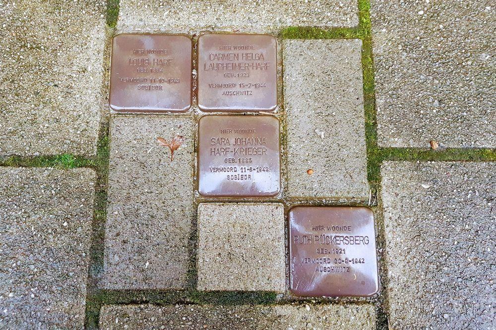 Stolpersteine Sarphatiestraat 79hs
