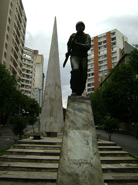 Monument Braziliaanse Expeditieleger Belo Horizonte