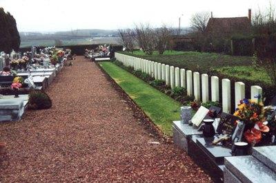 Oorlogsgraven van het Gemenebest Hinges