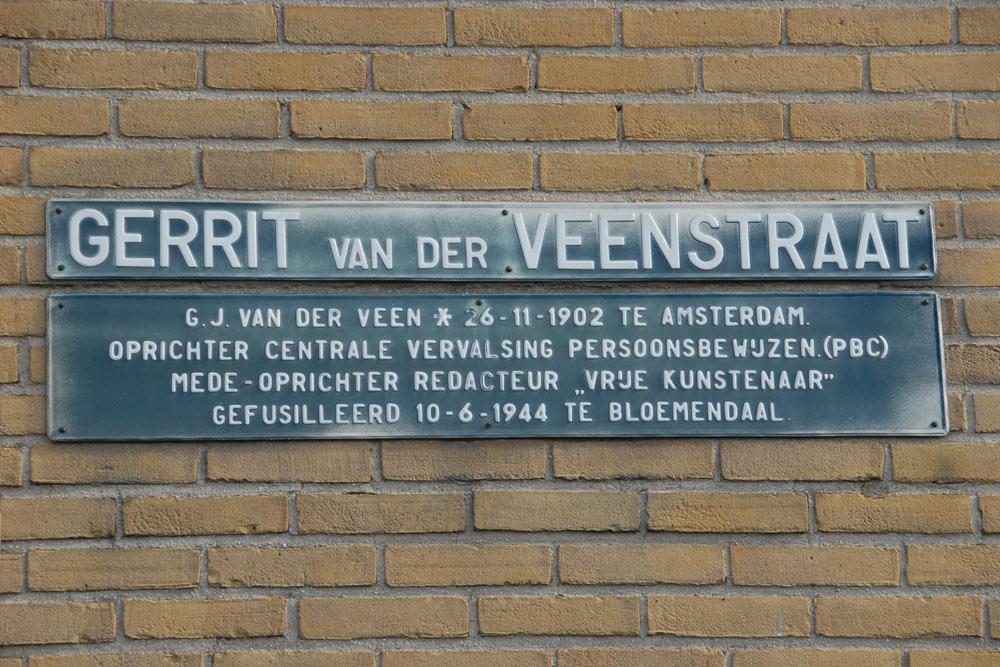 Gerrit van der Veen street Oss - Oss - TracesOfWar.com