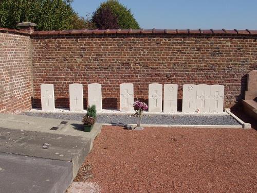 Oorlogsgraven van het Gemenebest Bougnies