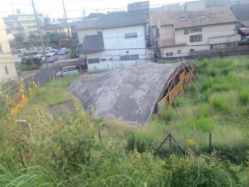 Japanse Schuilbunker Fuchu