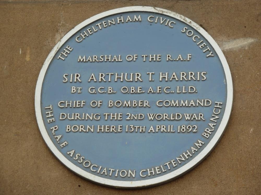 Plaquette Sir Arthur T. Harris