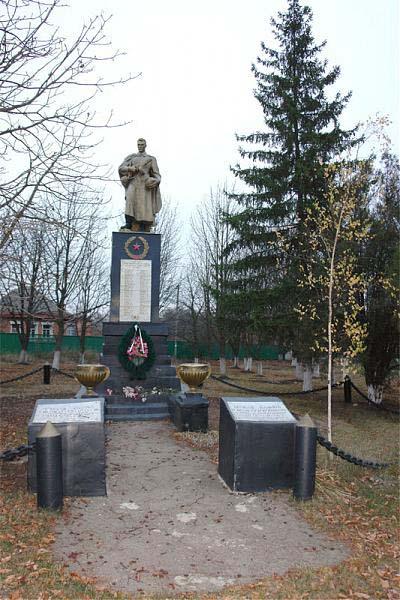 Mass Grave Soviet Soldiers Ruska Lozova