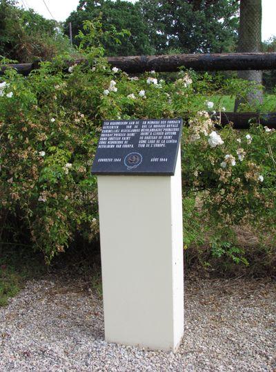 Monument Prinses Irene Brigade Bréville-les-Monts