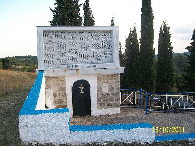 Ossuary Victims Massacre Ano Kerdyllia
