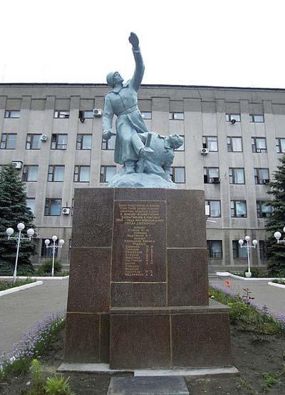 Massagraf Sovjet Soldaten Dzerzhynsk