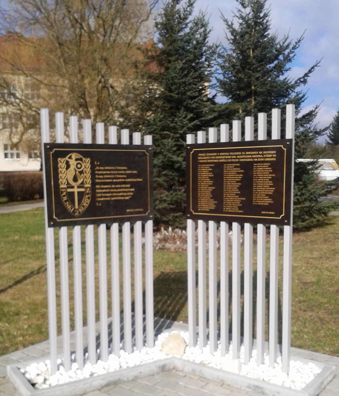 Monument 2e Poolse Korps (Ronda gen. Wladyslaw Andersa)