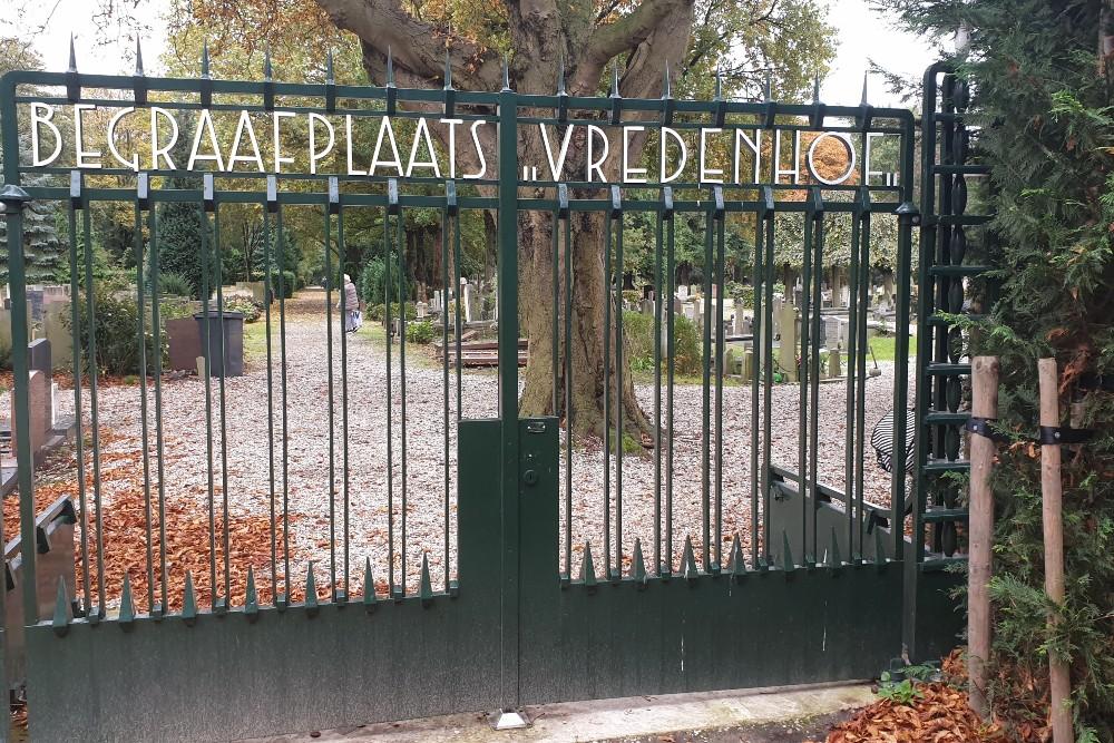 Dutch War Graves Cemetery Vredenhof Amsterdam