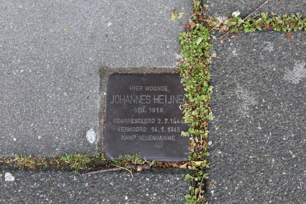 Stumbling Stone Dr. Lemmenstraat 6