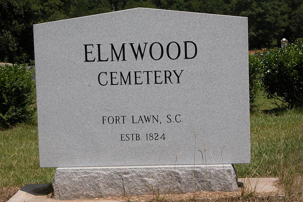 American War Grave Elmwood Cemetery