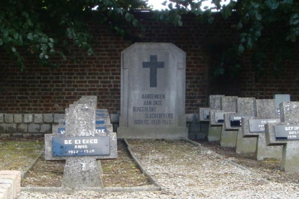 Monument Burgerlijke Slachtoffers Tweede Wereldoorlog Tielt