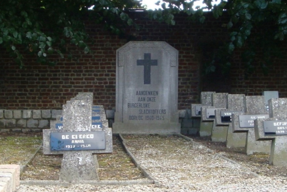 Memorial Civilian Victims Second World War Tielt