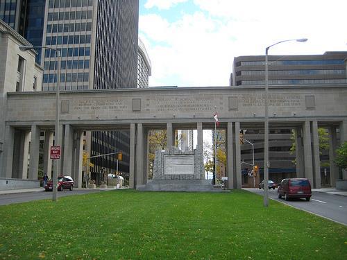 Monument Veteranen Tweede Wereldoorlog Ottawa