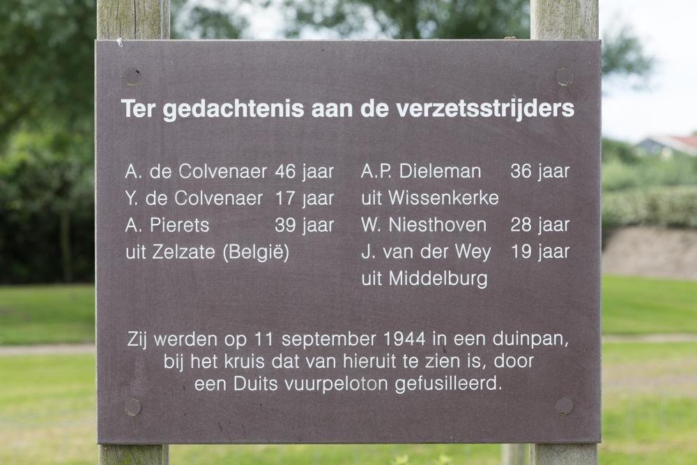 Information Sign Execution Memorial