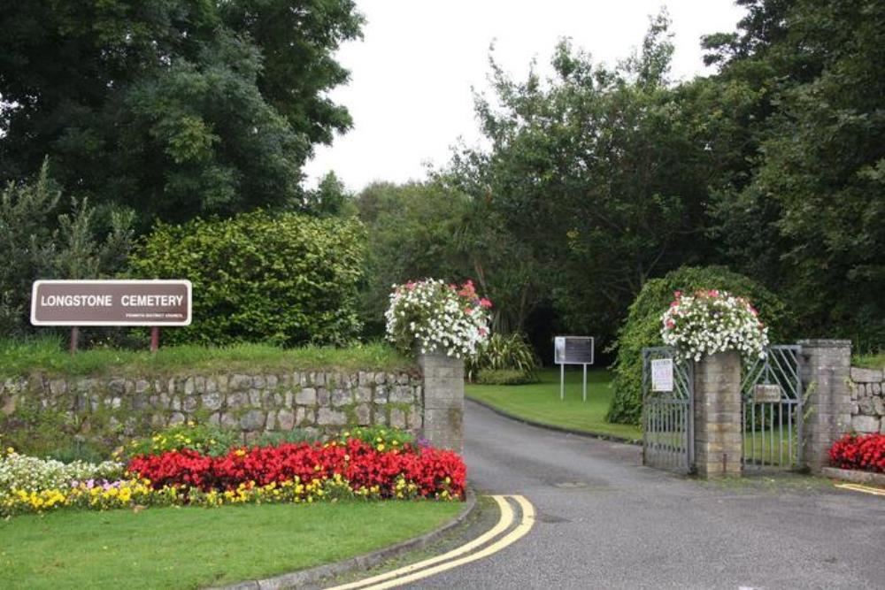 Brits Oorlogsgraf Longstone Cemetery