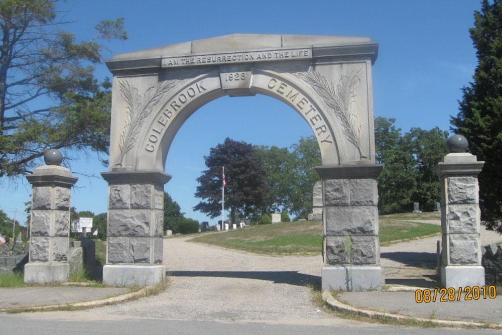 Amerikaans Oorlogsgraf Colebrook Cemetery
