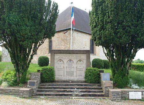 Monument Strijd 15 Mei 1940