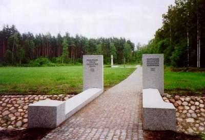 German War Cemetery Riga Beberbeki