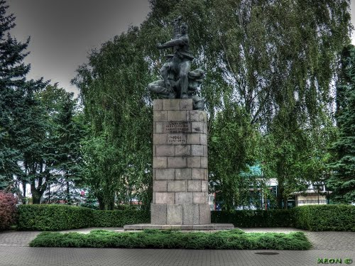Monument Verdedigers Liepāja