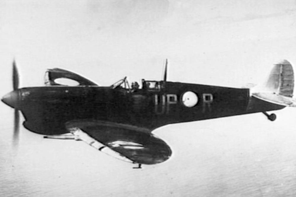 Crashlocatie Spitfire