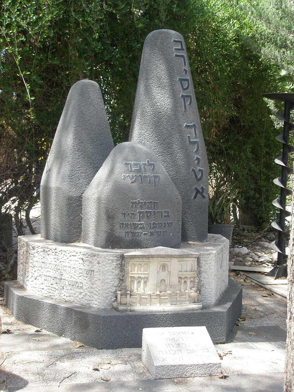 Holocaust Memorials Kiryat Shaul