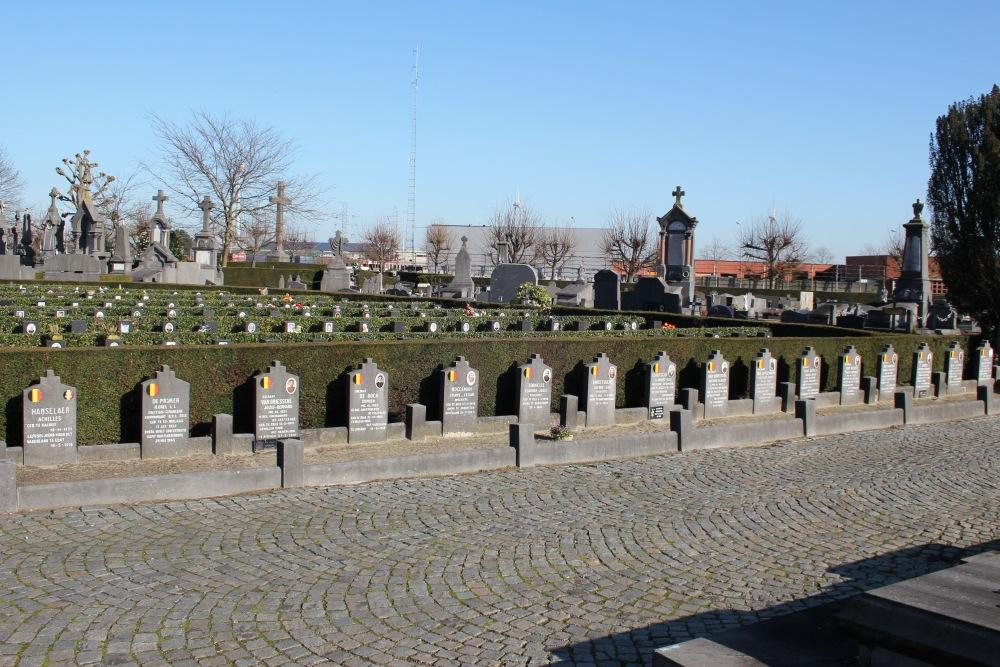 Belgische Oorlogsgraven Zele