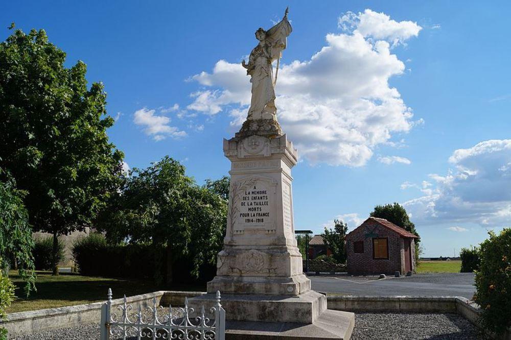 War Memorial La Taillée