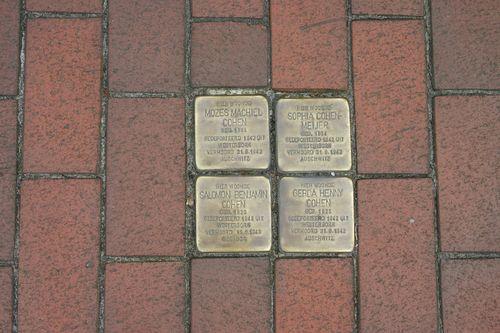 Stumbling Stones Stationsweg 14 - 16